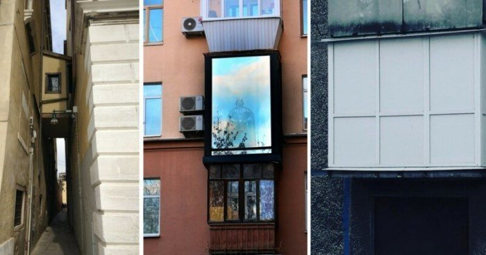 Балконы с изюминкой