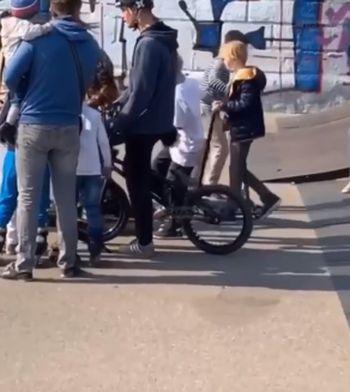 """Яжемать"" на скейт-площадке в Саратове"