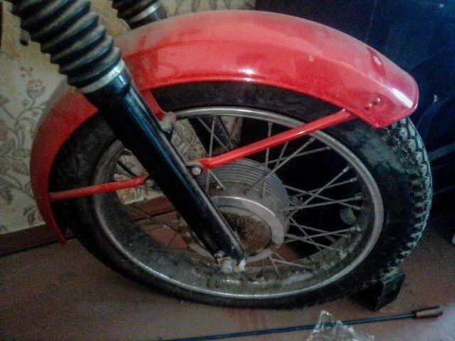 Мечта советских мотоциклистов 30 лет пылилась в квартире Всячина