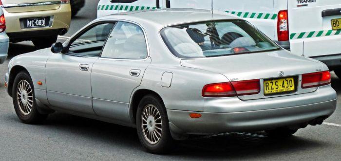 Необычную Mazda продают в Санкт-Петербурге
