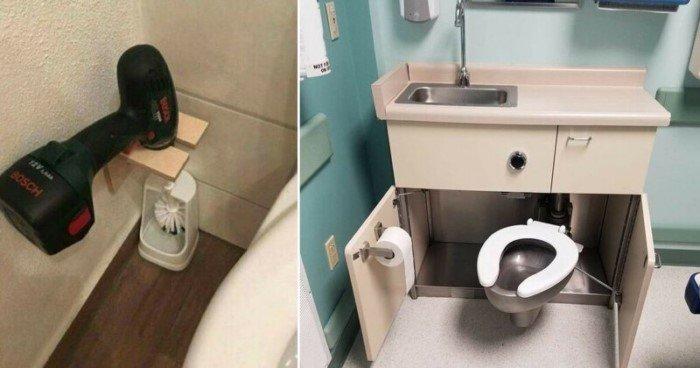 Подсмотрено в туалете