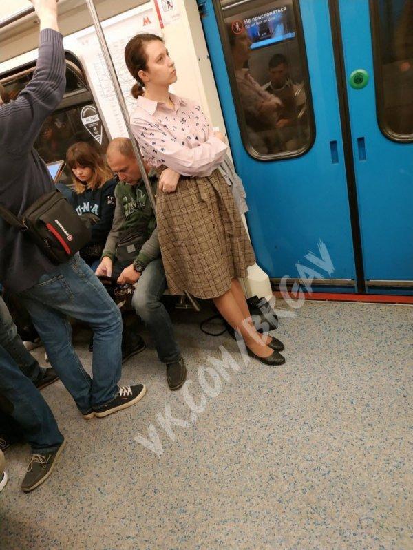 Жара в метро