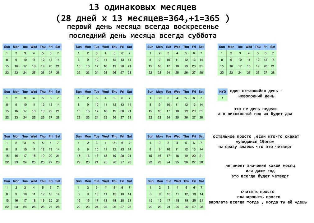 Новый календарь, который вы точно оцените по достоинству Всячина