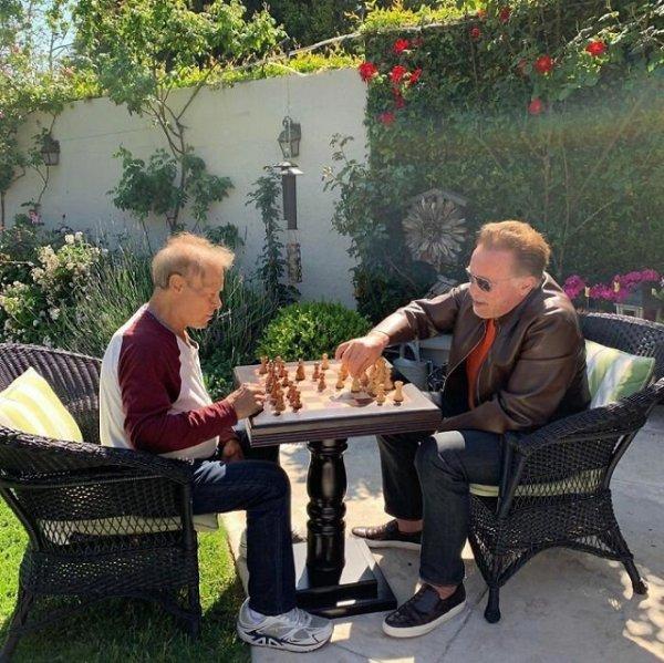 История о настоящей дружбе: Арнольд Шварценеггер и Франко Коломбо