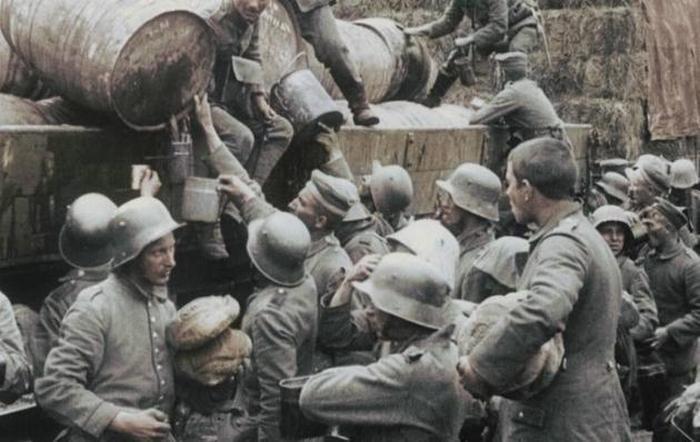 Алкоголь на Первой мировой Всячина