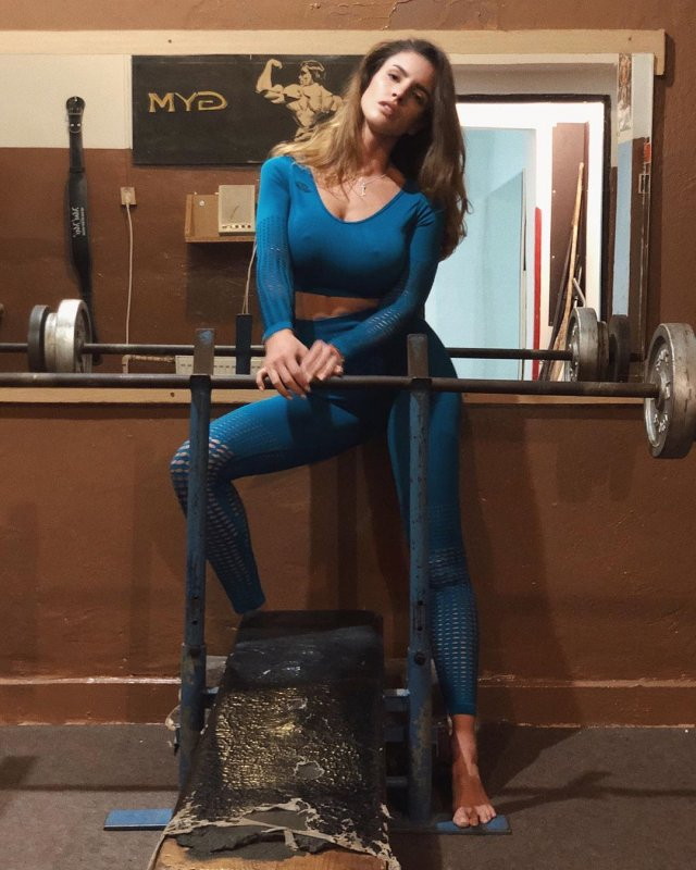 Люсия Яворчекова - знойная велосипедистка, бросившая спорт ради модельной карьеры Всячина