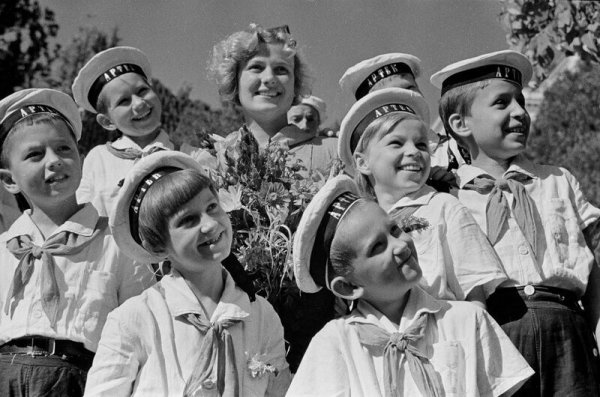 Советские дети 50-х Всячина