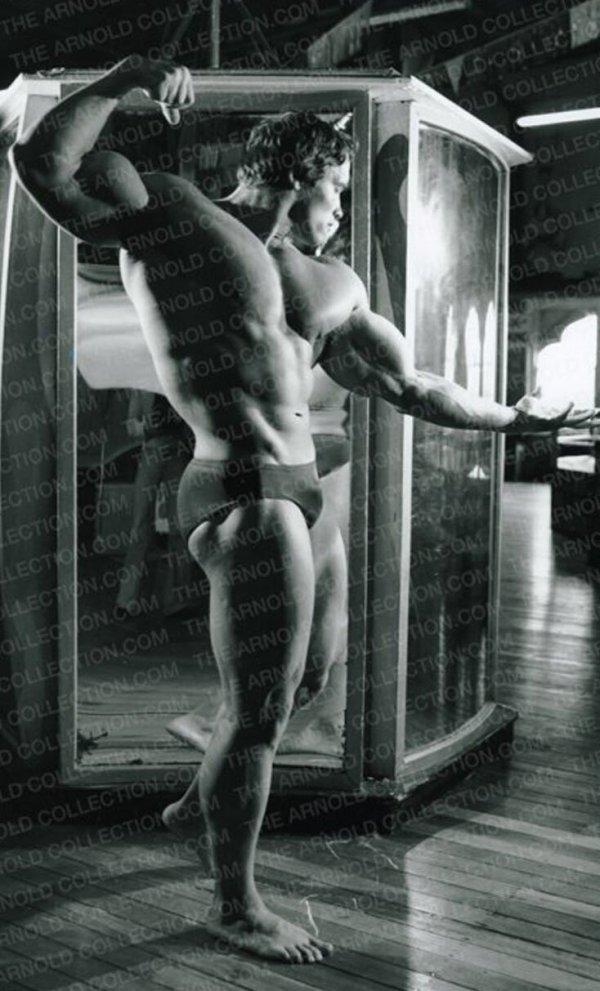 Интересные фотографии Арнольда Шварценеггера Всячина