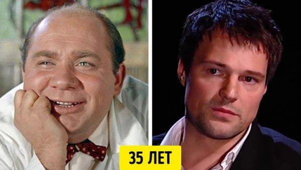 Советские и современные актеры в одном возрасте. Почему такой контраст?