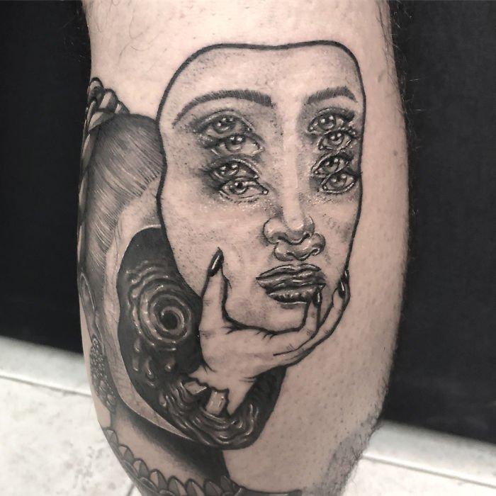Татуировки Double Vision