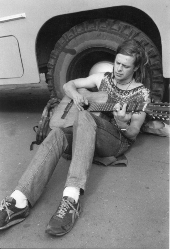 Редкие фотографии отечественных рок музыкантов Всячина