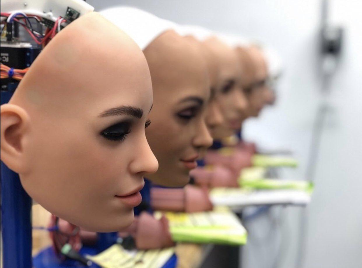 На фабрике Real Doll - самого известного производителя секс-кукол в мире Всячина