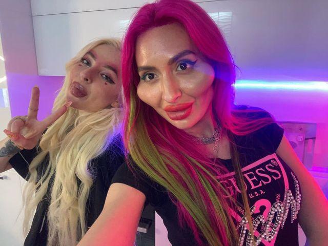 Анастасия Покрищук _just__queen_ потратила целое состояние на новые скулы и стала звездой в Instagram Всячина