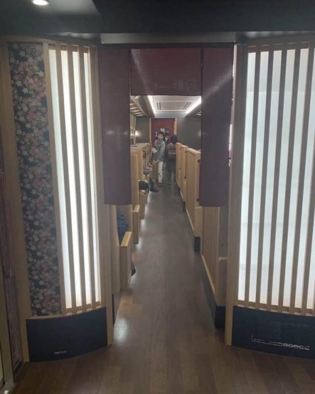 Обычная электричка в Японии Всячина