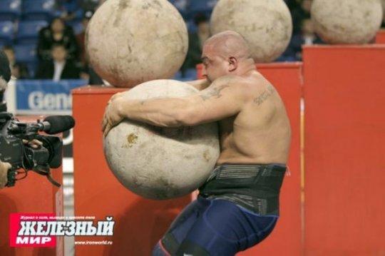 תמונות|כמה תמונות מהתחרות של האיש הכי חזק בעולם.
